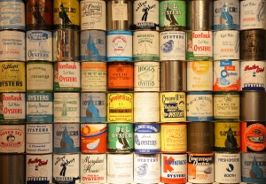 Oyster Cans - poster